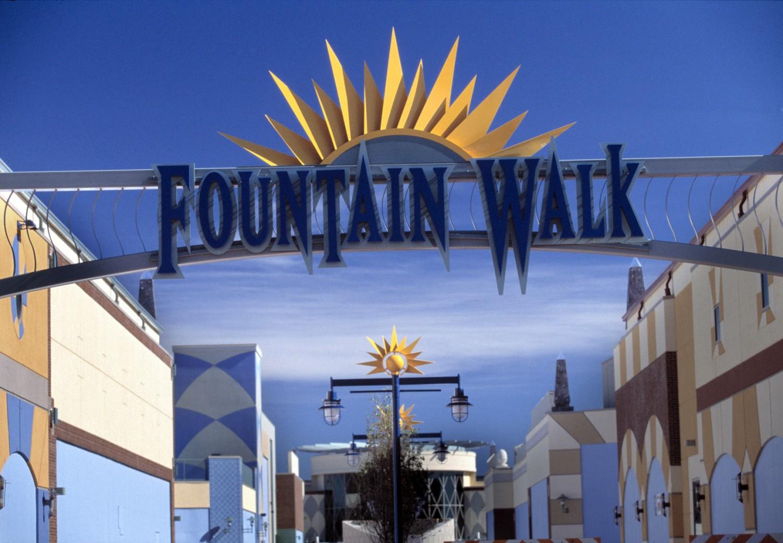 Fountain Walk Clark Construction Company