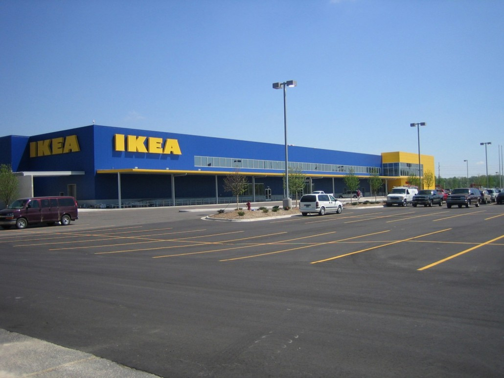 Ikea home furnishings canton clark construction company for Home building companies in michigan