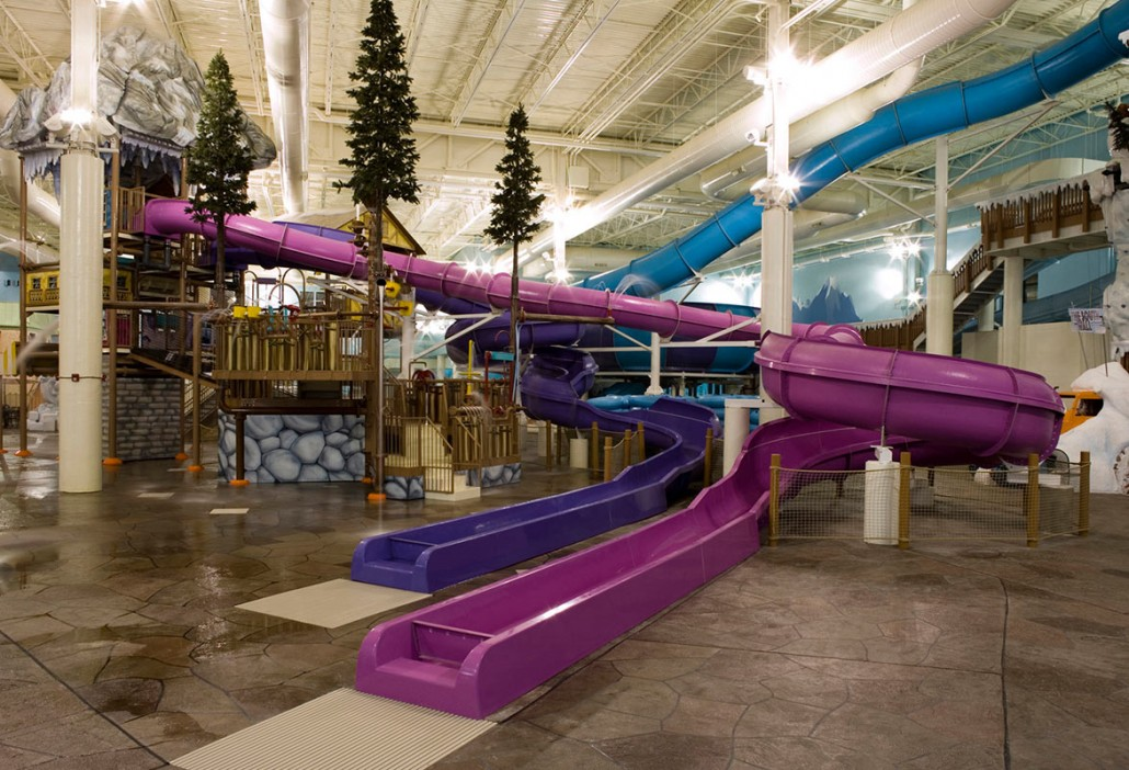 Avalanche Bay Indoor Water Park Clark Construction Company