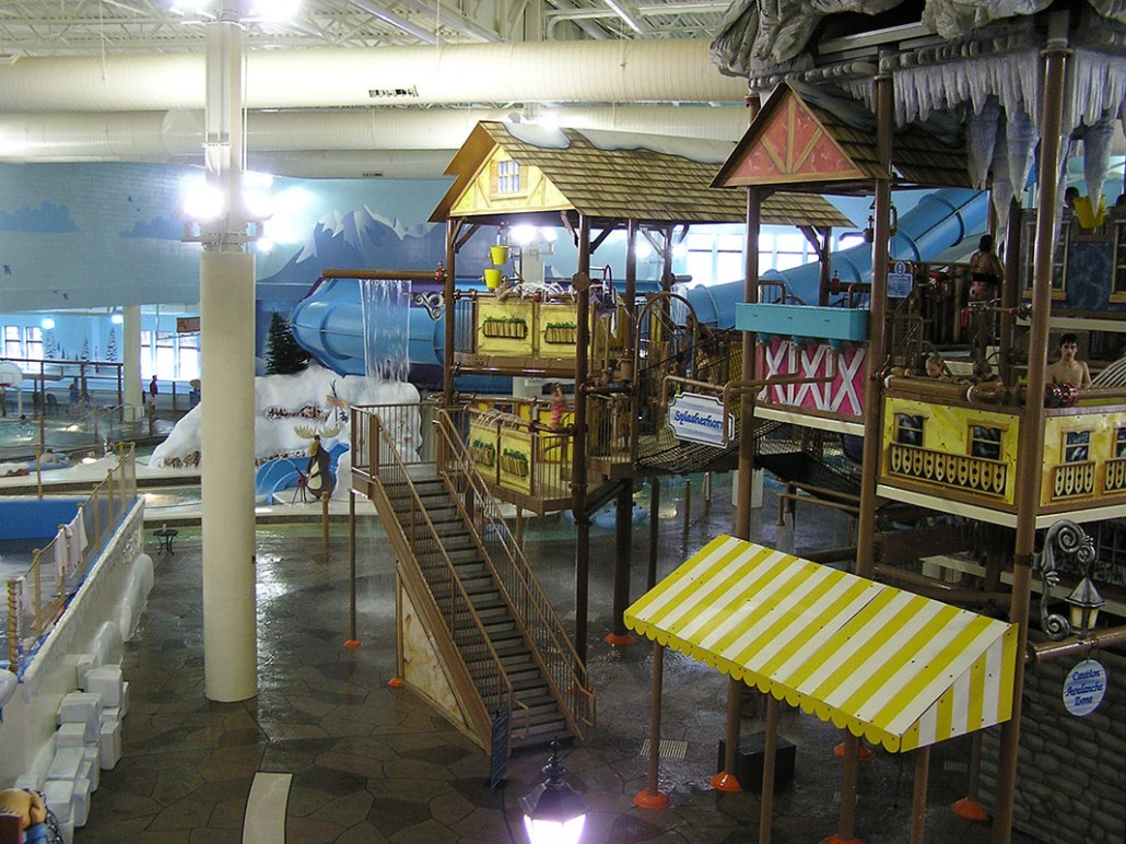 Avalanche Bay Indoor Water Park - Clark Construction Company