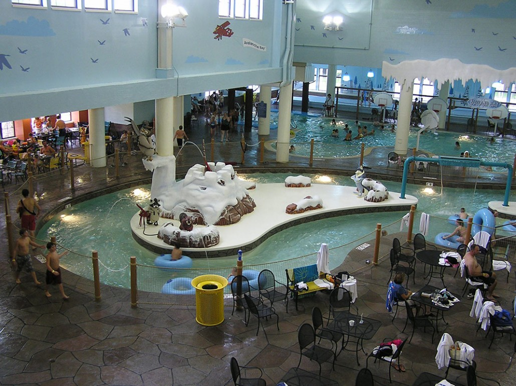 avalanche bay indoor water park
