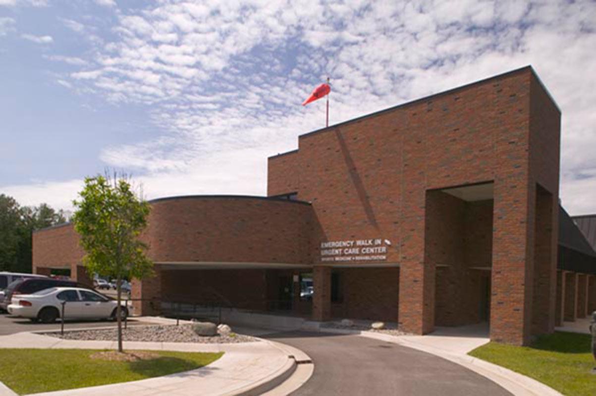 Charlevoix Hospital ER Entrance