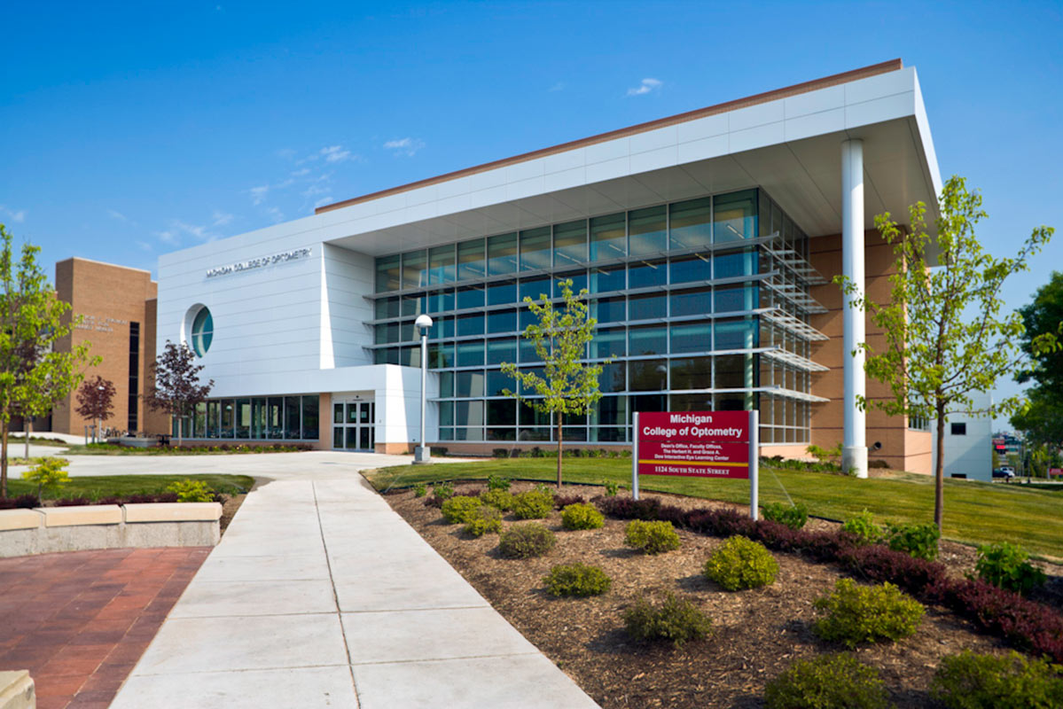 Fsu Michigan College Of Optometry Clark Construction Company