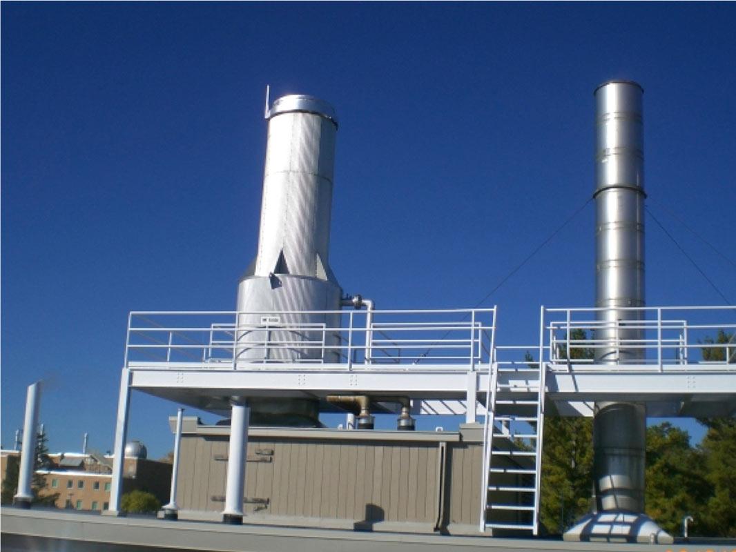 FSU Steam Boiler Addition - Clark Construction Company