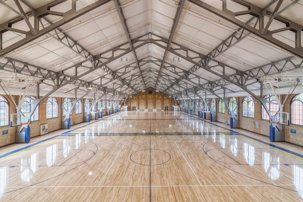 U Of M Intramural Sports Building Renovations Clark