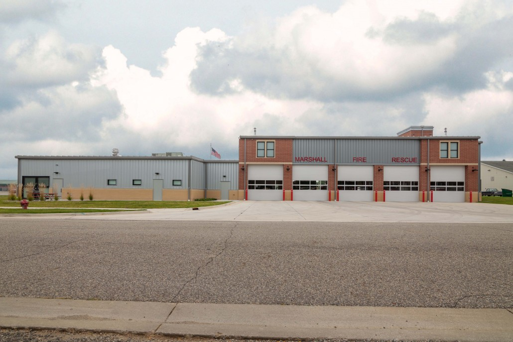 city of marshall law enforcement center and fire station