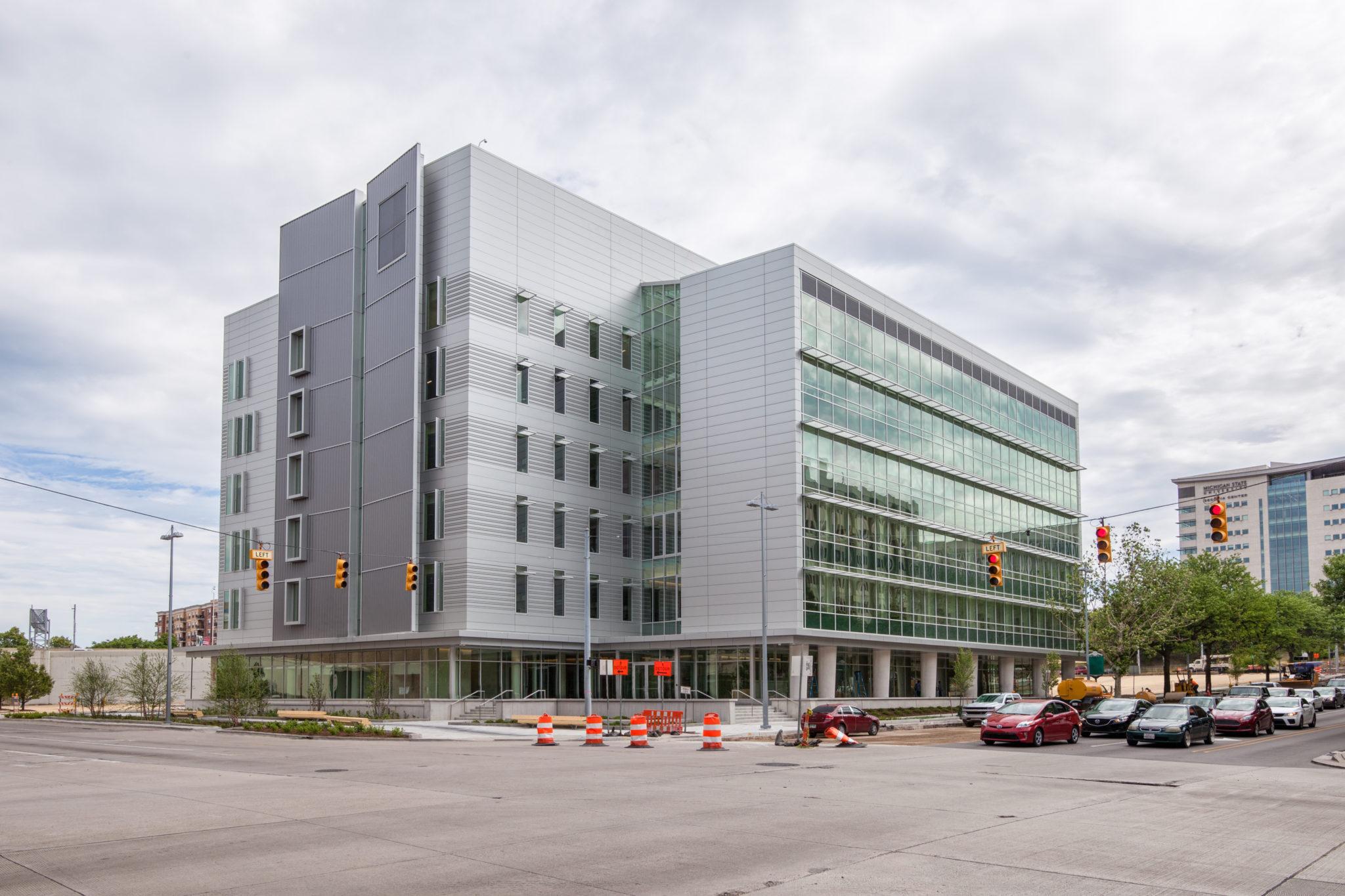 MSU main building: construction history