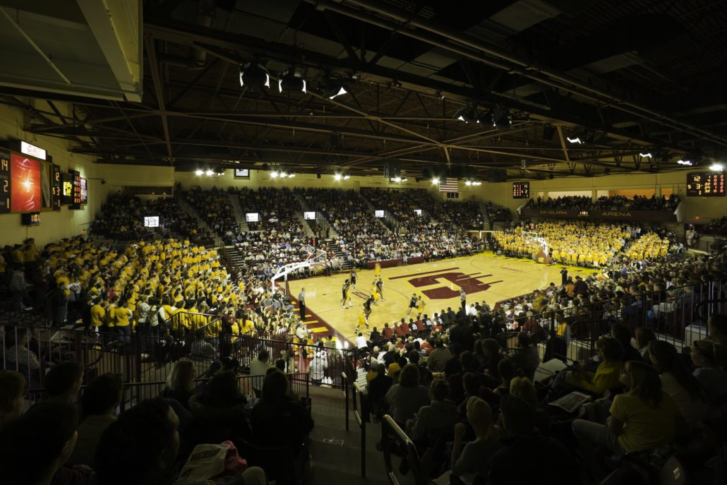 Cmu Mcguirk Arena Student Events Center Clark