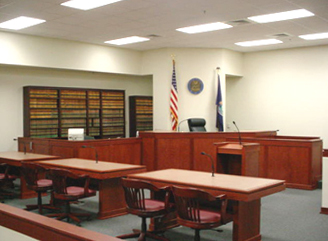 Montcalm County Courtroom