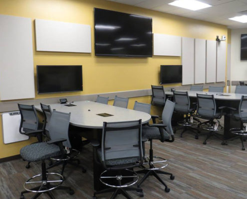dow active learning classroom