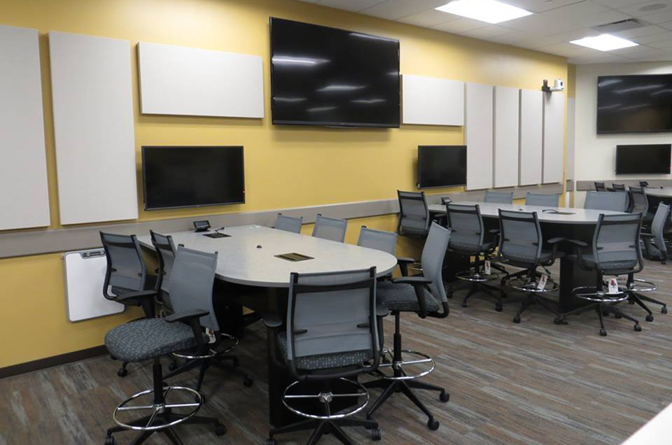 Classroom Virtual Design ~ Cmu dow active learning center clark construction company