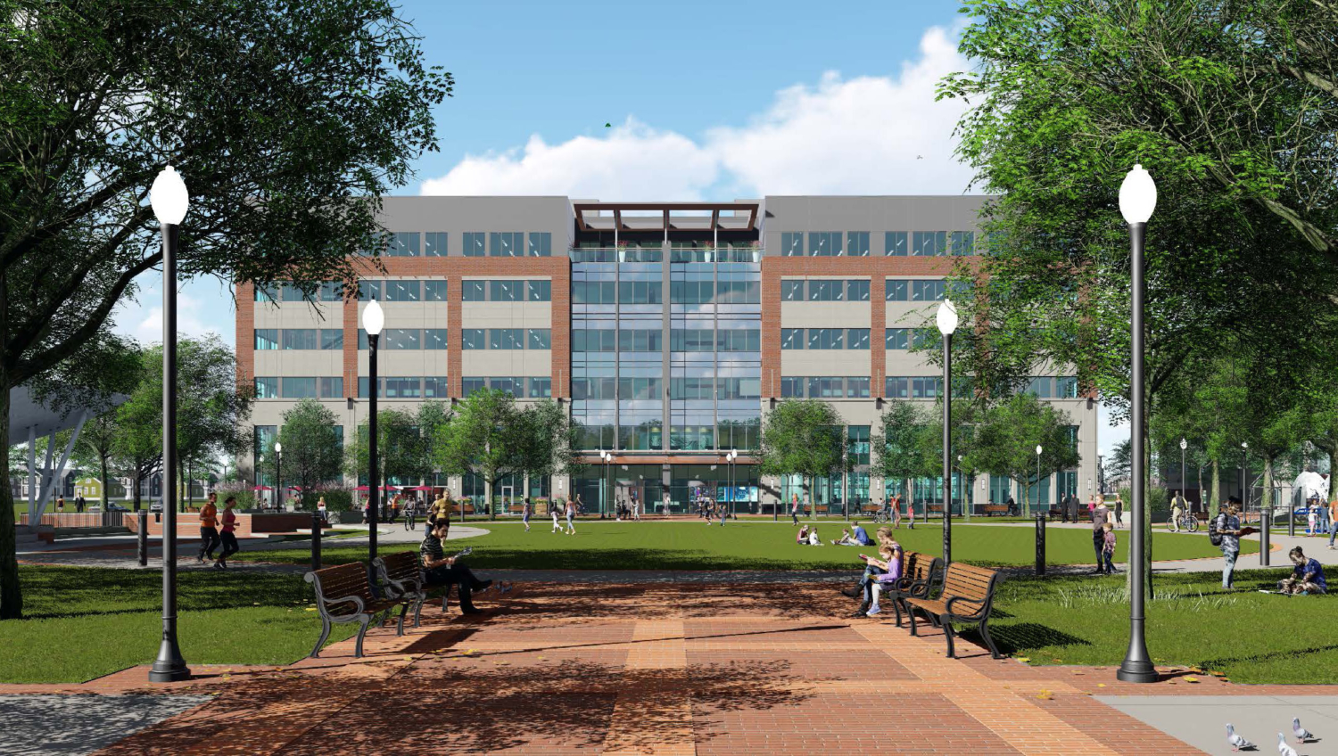 Royal Oak City Center rendering